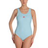Image of Woman's - Light Blue EnviousBody swimwear