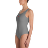 Image of Dark Grey - One-Piece Swimsuit - ENVIOUS BODY