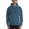 Image of MEN'S - ENVIOUSBODY HEAVY BLEND HOODIE TRACE ME COLLECTION