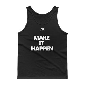 Men's - Enviousbody Cotton Fitted Tank top Make It Happen Collection