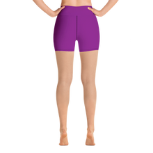 Woman's - Purple EnviousBody Yoga Shorts