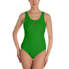 Image of Woman's - Green EnviousBody swimwear