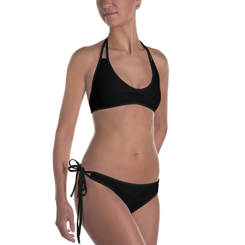 Woman's - EnviousBody Black Bikini