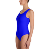 Image of Blue - One-Piece Swimsuit - ENVIOUS BODY