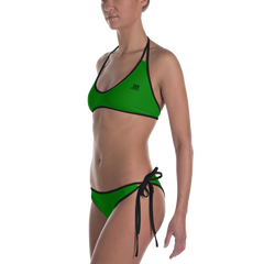 Woman's - EnviousBody Green Bikini