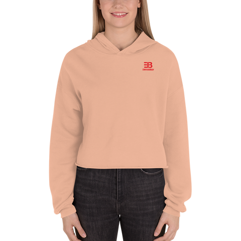 Woman's - Enviousbody Crop Hoodie