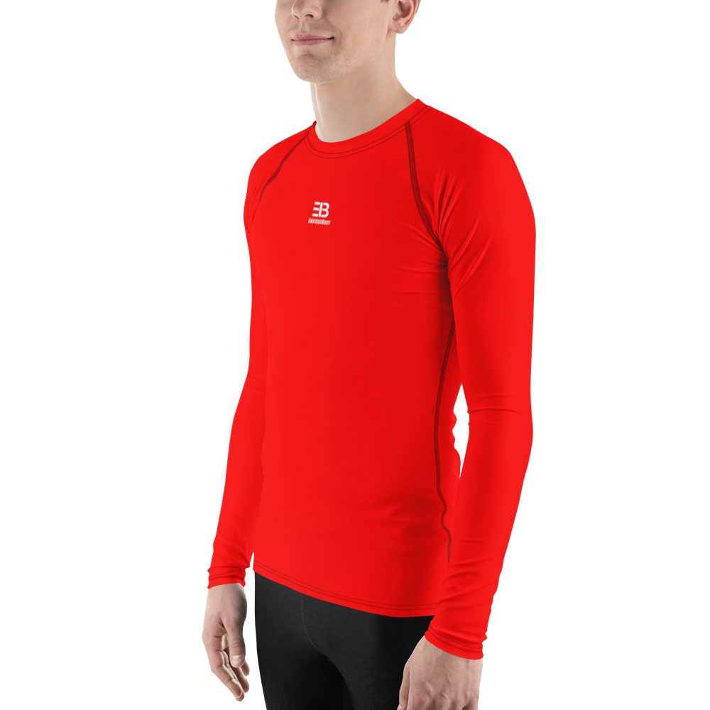 MEN'S - RED ENVIOUSBODY RASH GUARD