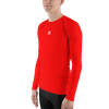 Image of MEN'S - RED ENVIOUSBODY RASH GUARD