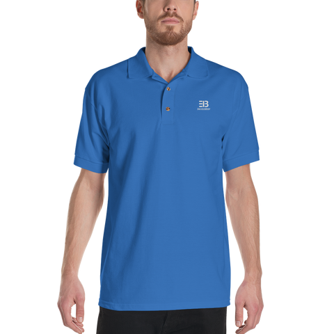 Men's - Enviousbody Embroideres Polo Shirt