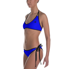 Woman's - EnviousBody Blue Bikini