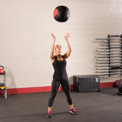 Body Solid - 18 LB SOFT MEDICINE BALL (WALL BALL)