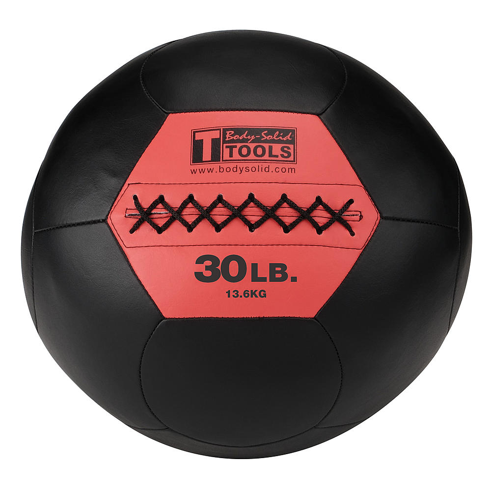 Body Solid - 30 LB SOFT MEDICINE BALL (WALL BALL) - ENVIOUS BODY