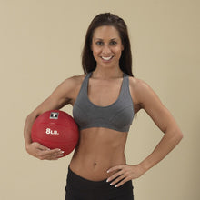 Body Solid - 8lb. Medicine Ball - Red - ENVIOUS BODY