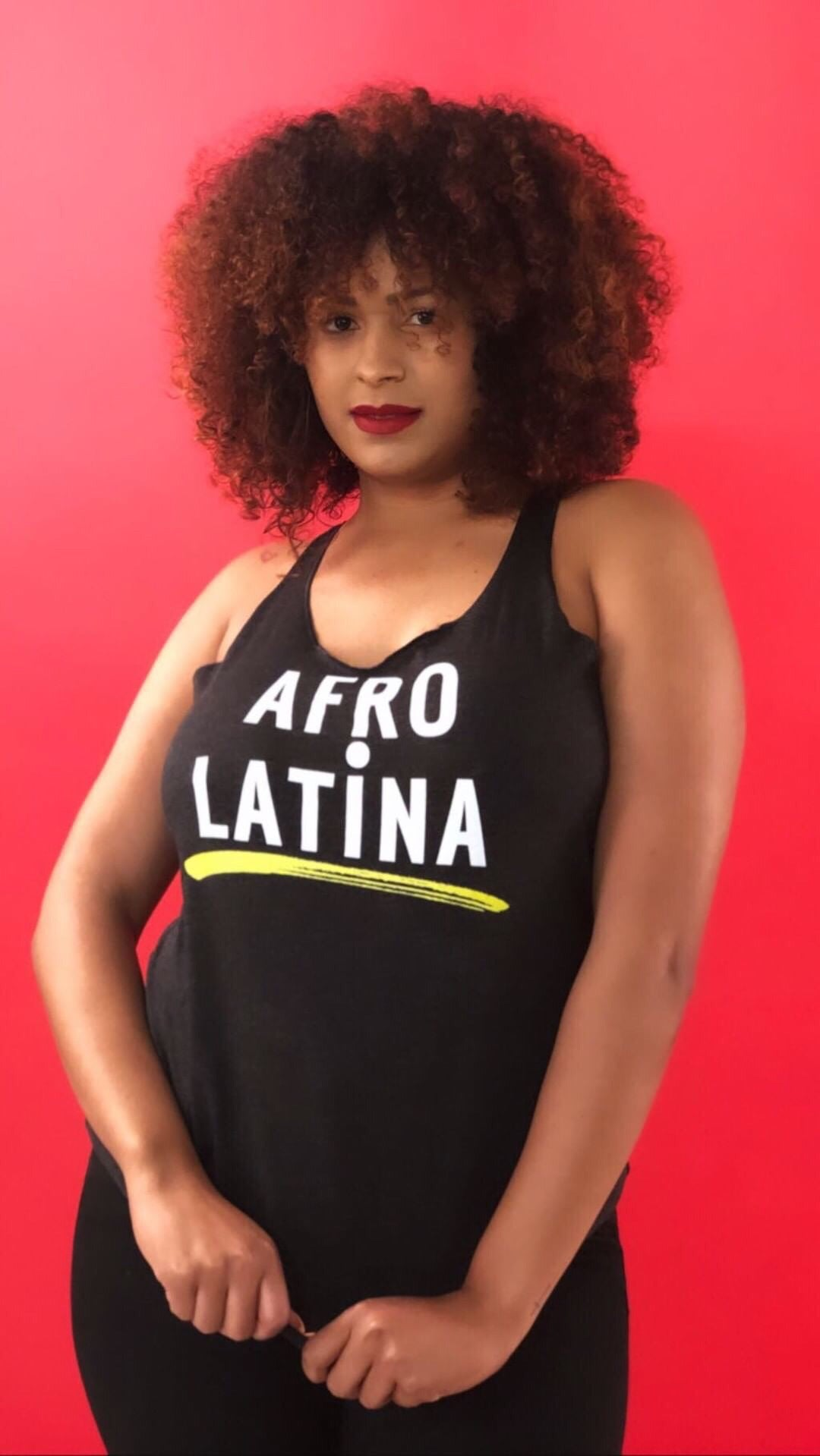 Afro-Latina Tank Top - Latina Power