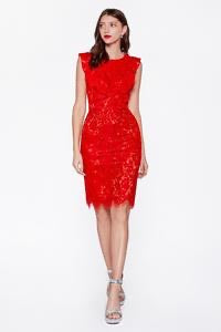 Empire Lace Dress - Latina Power