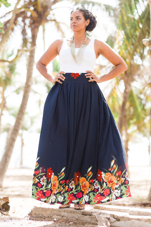 Unique Caribbean Inspired Skirt - SOLD OUT - Latina Power