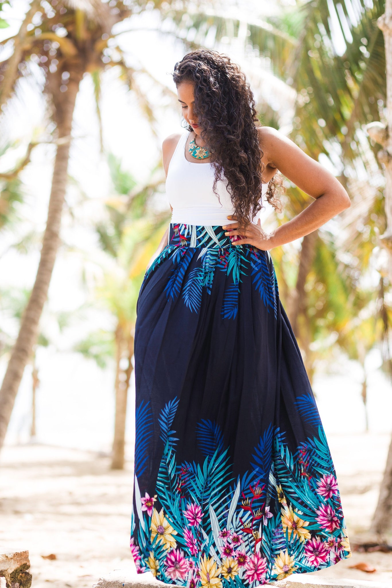 A-line Gipsy Queen Skirt - SOLD OUT - Latina Power