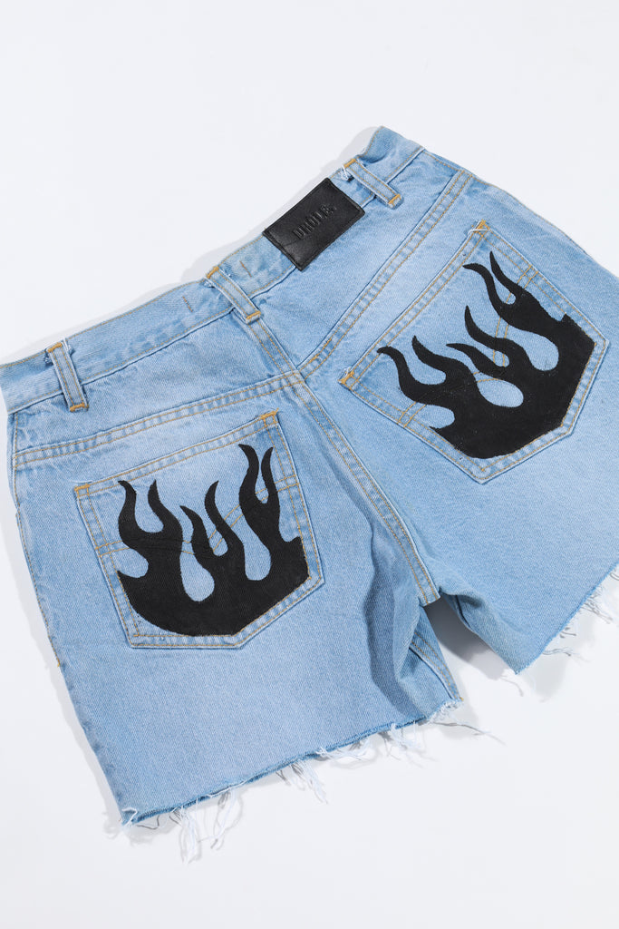 Short de Jean custom fuego