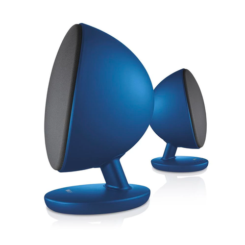 Blauwe EGG Bluetooth Computer Speakers