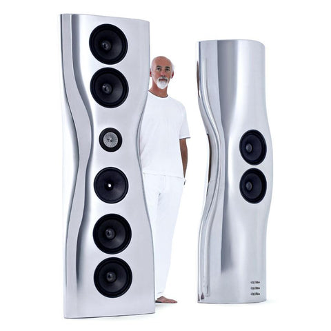 KEF's Iconische MUON Speaker Designer - Ross Lovegrove