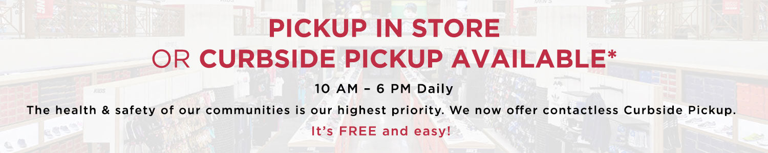 Pickup in Store or Curbside Pickup Available