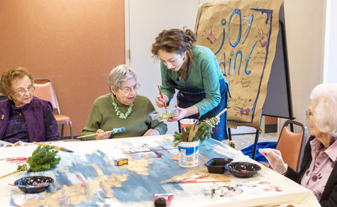 Paint by number improves motor skills