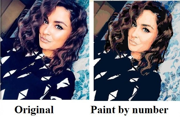 Photo to paint by numbers