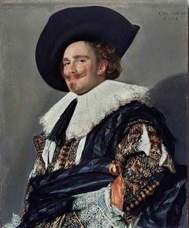 The Laughing Cavalier - People Paint By Numbers