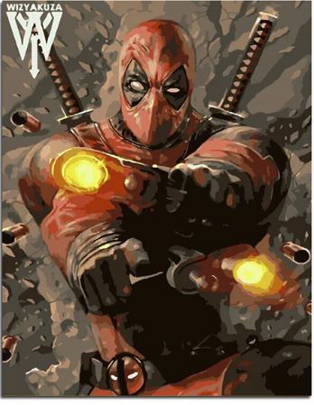 Deadpool - People Paint By Numbers