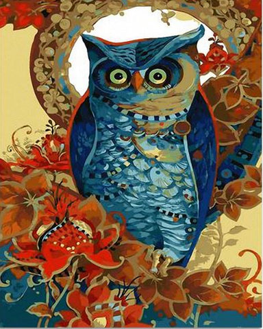 Night Owl- Birds Paint By Numbers