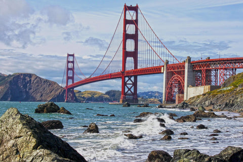 Golden Gate Bridge San Francisco - Cities Paint By Numbers