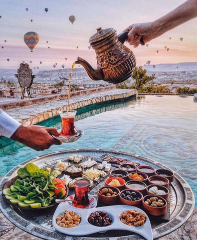 Breakfast in Cappadocia- Cities Paint By Numbers