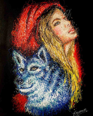 Little Red Riding Hood - People Paint By Numbers