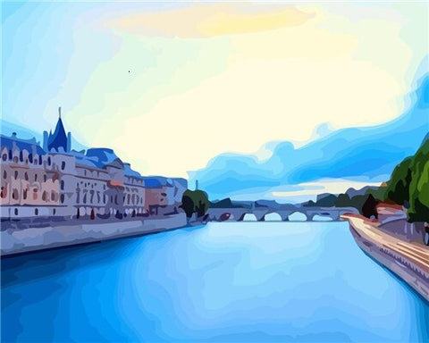 Conciergerie in Paris - Cities Paint By Numbers