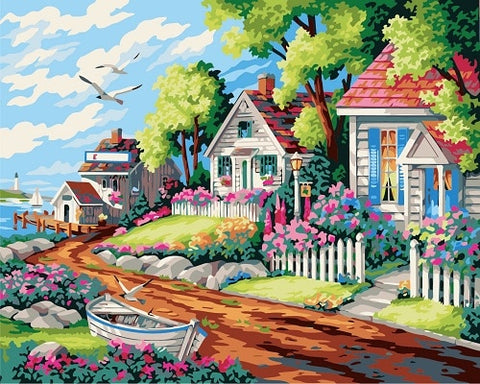 Dream House - Cities Paint By Numbers