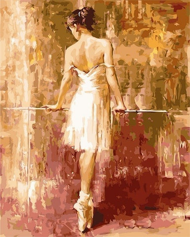 Purity Ballerina  - People Paint By Numbers