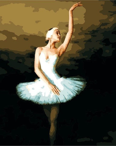 Elegant Ballerina - People Paint By Numbers
