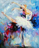 Girl Ballet Dancer - People Paint By Numbers