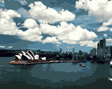 Sydney Sky View - Cities Paint By Numbers