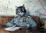 Black Cat Sheriff - Animals Paint By Numbers