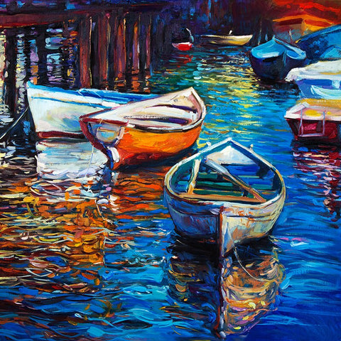 Boats and Sea- Seascape Paint By Numbers