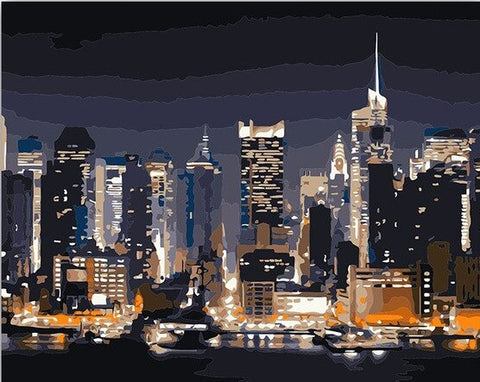 New York City Manhattan - Cities Paint By Numbers