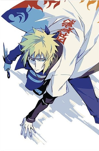 Minato The 4th Hokage Cartoon And Animation Paint By Numbers
