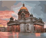 Museum In Saint Petersburg - Cities Paint By Numbers