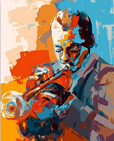 Musicians Jazz  - People Paint By Numbers