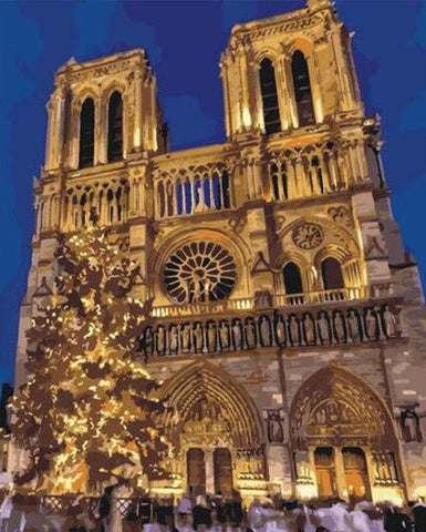 Notre-Dame de Paris - Cities Paint By Numbers