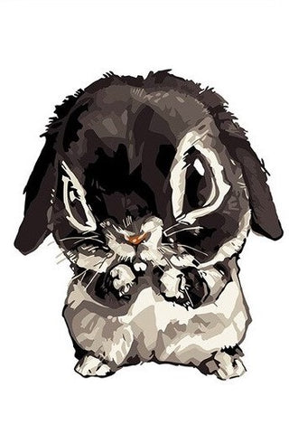 Mignon Rabbit  - Animals Paint By Numbers