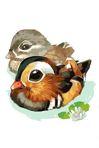 Cute Goose - Birds Paint By Numbers