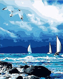 Sea Before The Storm - Seascape Paint By Numbers