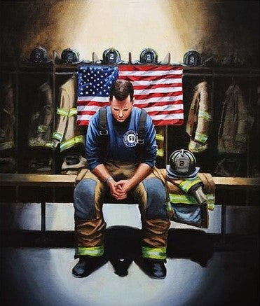 American Firefighter- People Paint By Numbers